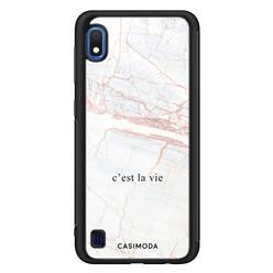 Casimoda Samsung Galaxy A10 hoesje - C'est la vie