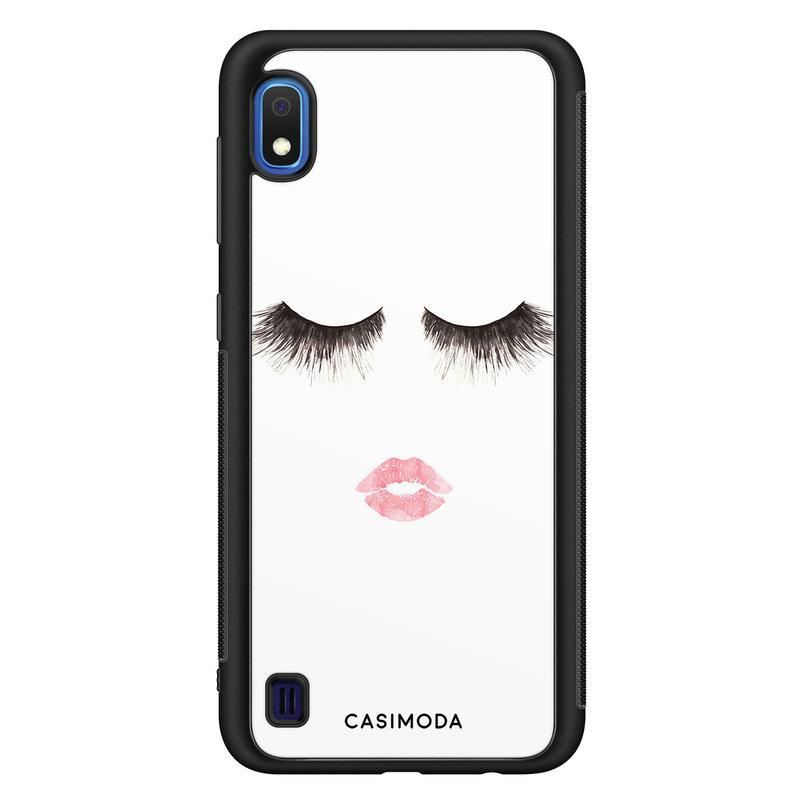 Casimoda Samsung Galaxy A10 hoesje - Kiss wink