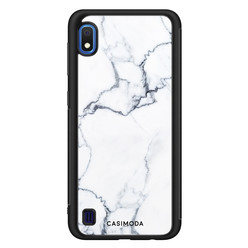 Casimoda Samsung Galaxy A10 hoesje - Marmer grijs
