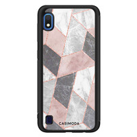 Casimoda Samsung Galaxy A10 hoesje - Stone grid