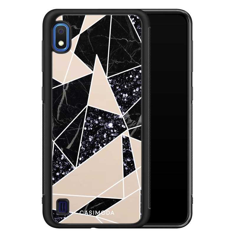 Casimoda Samsung Galaxy A10 hoesje - Abstract painted