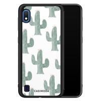 Casimoda Samsung Galaxy A10 hoesje - Cactus print