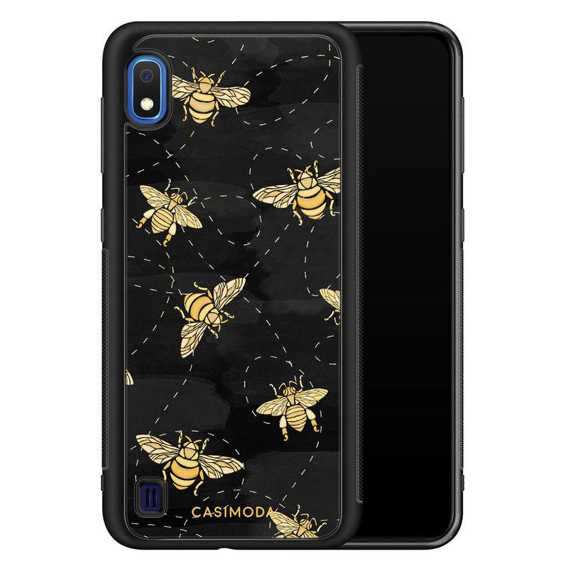 Casimoda Samsung Galaxy A10 hoesje - Bee yourself