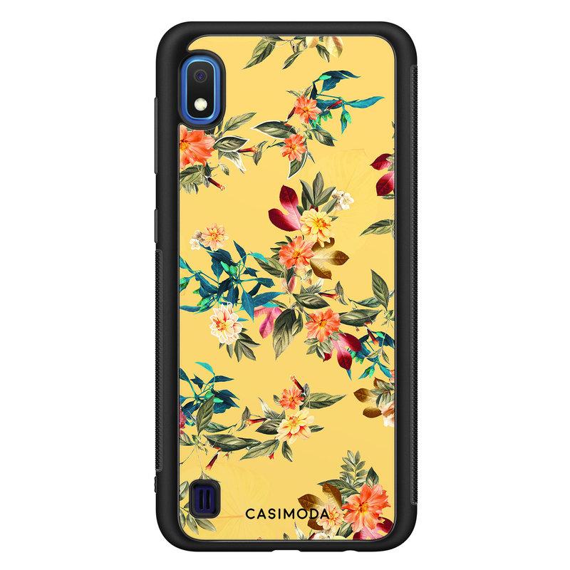Casimoda Samsung Galaxy A10 hoesje - Florals for days
