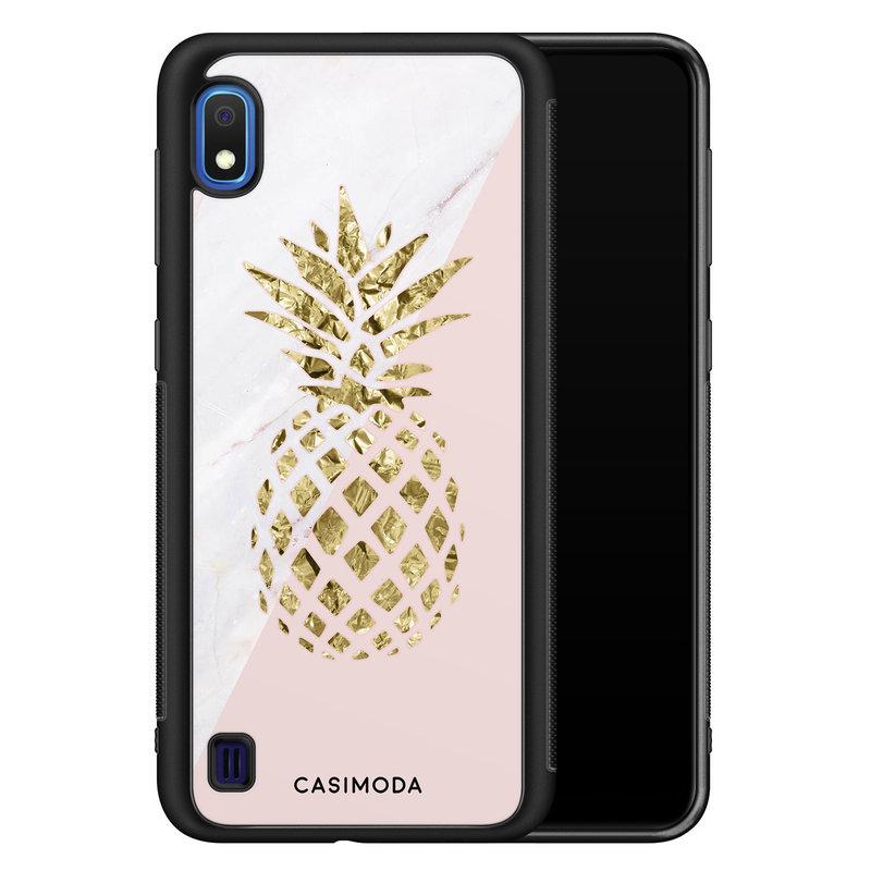 Casimoda Samsung Galaxy A10 hoesje - Ananas