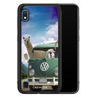 Casimoda Samsung Galaxy A10 hoesje - Lama adventure