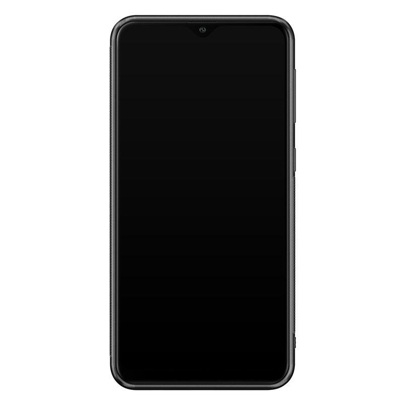 Casimoda Samsung Galaxy A10 hoesje - Abstract marmer blauw