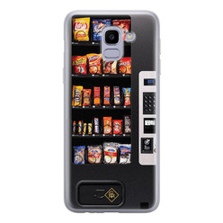 Casimoda Samsung Galaxy J6 (2018) siliconen hoesje - Snoepautomaat