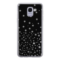 Casimoda Samsung Galaxy J6 (2018) siliconen hoesje - Falling stars