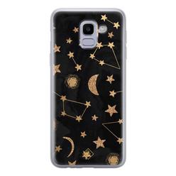 Casimoda Samsung Galaxy J6 (2018) siliconen hoesje - Counting the stars