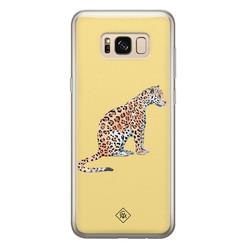 Casimoda Samsung Galaxy S8 siliconen hoesje - Leo wild