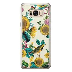 Casimoda Samsung Galaxy S8 siliconen hoesje - Sunflowers