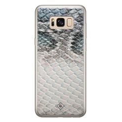 Casimoda Samsung Galaxy S8 siliconen hoesje - Oh my snake