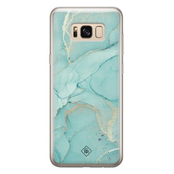 Casimoda Samsung Galaxy S8 siliconen hoesje - Touch of mint