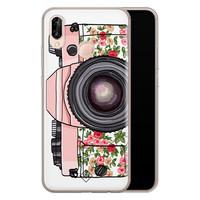 Casimoda Huawei P20 Lite siliconen telefoonhoesje - Hippie camera