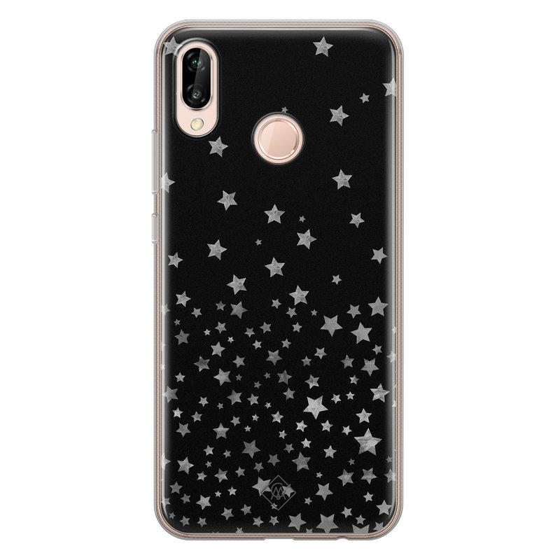 Casimoda Huawei P20 Lite siliconen hoesje - Falling stars