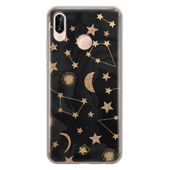 Casimoda Huawei P20 Lite siliconen hoesje - Counting the stars
