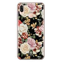 Casimoda Huawei P20 Lite siliconen hoesje - Flowerpower