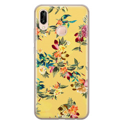 Casimoda Huawei P20 Lite siliconen hoesje - Floral days