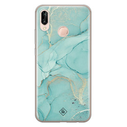 Casimoda Huawei P20 Lite siliconen hoesje - Touch of mint