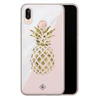 Casimoda Huawei P20 Lite siliconen hoesje - Ananas