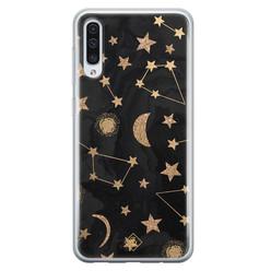 Casimoda Samsung Galaxy A70 siliconen hoesje - Counting the stars