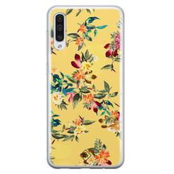 Casimoda Samsung Galaxy A70 siliconen hoesje - Floral days