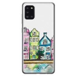 Casimoda Samsung Galaxy A31 siliconen hoesje - Amsterdam