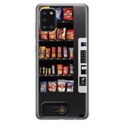 Casimoda Samsung Galaxy A31 siliconen hoesje - Snoepautomaat