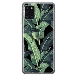 Casimoda Samsung Galaxy A31 siliconen hoesje - Bali vibe