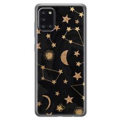 Casimoda Samsung Galaxy A31 siliconen hoesje - Counting the stars