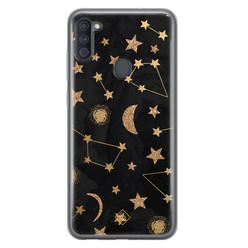 Casimoda Samsung Galaxy A11 siliconen hoesje - Counting the stars