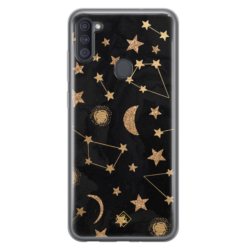 Casimoda Samsung Galaxy A11 siliconen hoesje - Counting the stars