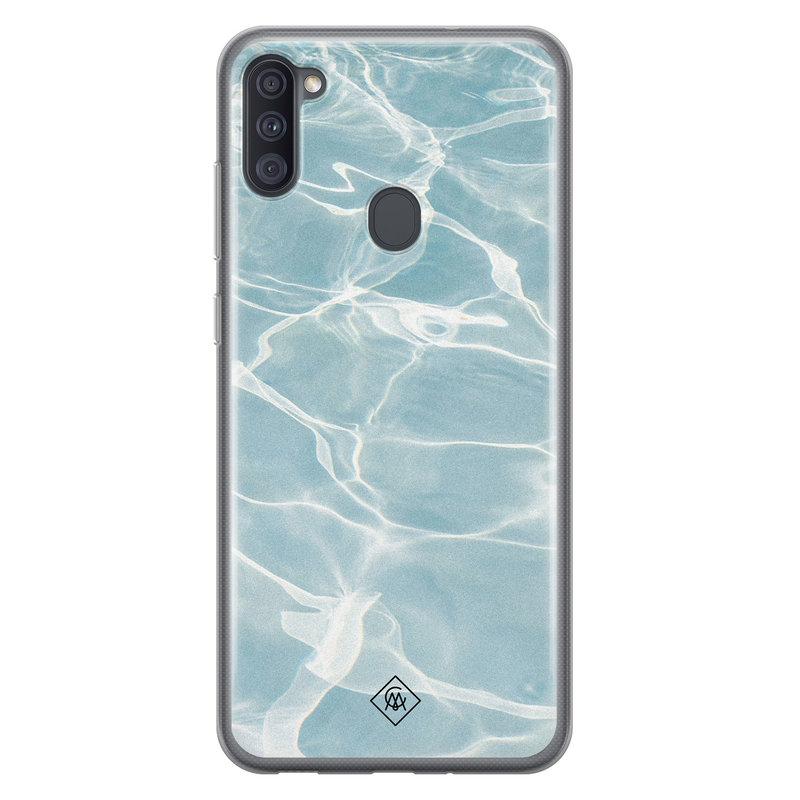 Casimoda Samsung Galaxy A11 siliconen hoesje - Oceaan