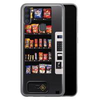 Casimoda Samsung Galaxy A11 siliconen hoesje - Snoepautomaat