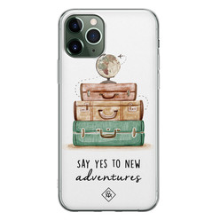 Casimoda iPhone 11 Pro siliconen hoesje - Wanderlust
