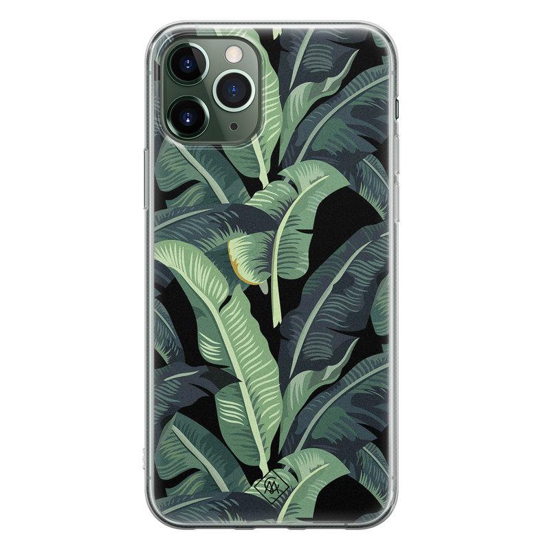 Casimoda iPhone 11 Pro siliconen hoesje - Bali vibe