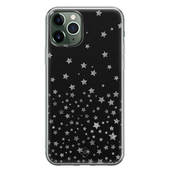 Casimoda iPhone 11 Pro siliconen hoesje - Falling stars