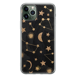 Casimoda iPhone 11 Pro siliconen hoesje - Counting the stars