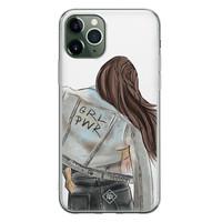 Casimoda iPhone 11 Pro siliconen hoesje - GRL PWR