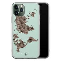 Casimoda iPhone 11 Pro siliconen hoesje - Wild world