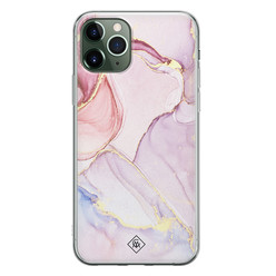 Casimoda iPhone 11 Pro Max siliconen hoesje - Purple sky