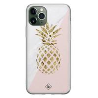 Casimoda iPhone 11 Pro Max siliconen hoesje - Ananas