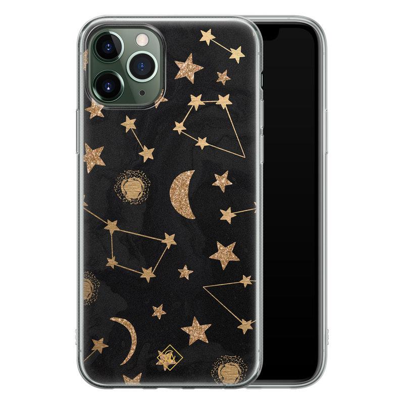 Casimoda iPhone 11 Pro Max siliconen hoesje - Counting the stars