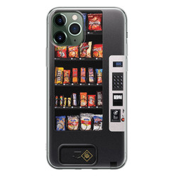 Casimoda iPhone 11 Pro Max siliconen hoesje - Snoepautomaat