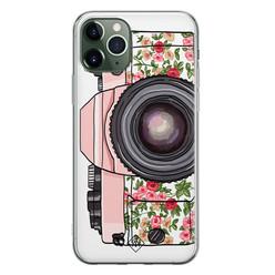 Casimoda iPhone 11 Pro Max siliconen hoesje - Hippie camera