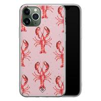 Casimoda iPhone 11 Pro Max siliconen telefoonhoesje - Lobster all the way