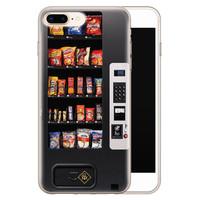 Casimoda iPhone 8 Plus/7 Plus siliconen hoesje - Snoepautomaat