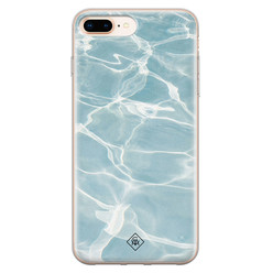 Casimoda iPhone 8 Plus/7 Plus siliconen hoesje - Oceaan
