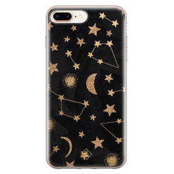 Casimoda iPhone 8 Plus/7 Plus siliconen hoesje - Counting the stars